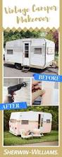 retro campers how to paint a vintage camper semi gloss paint gloss paint and
