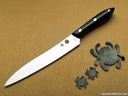 spyderco k11 cook u0027s knife review spydercollector