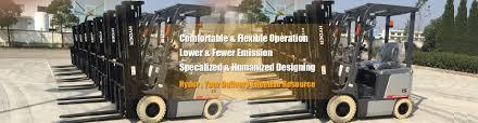 forklift truck manufacturer material handling equipment