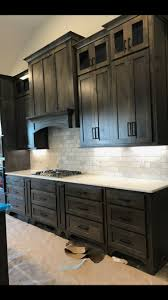 black stain on kitchen cabinets kitchendesign sherwinwilliams classicgray classicgrey