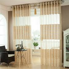 online get cheap sheer striped curtains aliexpress com alibaba