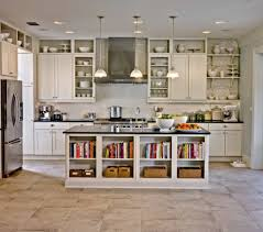creative storage ideas for small kitchens elegant kitchen with storage under the island creative storage
