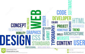 Homepage Design Concepts Word Cloud Web Design Royalty Free Stock Images Image 32311239