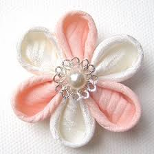 kanzashi flower tutorial how to make kanzashi flowers