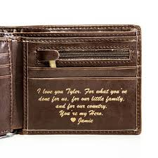 mens valentines day gifts valentines day gift for him mens leather wallet
