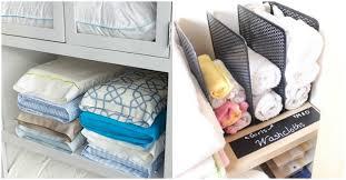 13 brilliant linen closet organization ideas
