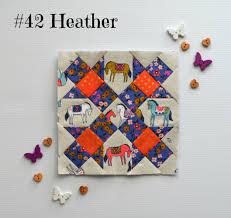 the farmer u0027s wife 1930 u0027s sew along 42 heather paper piecing