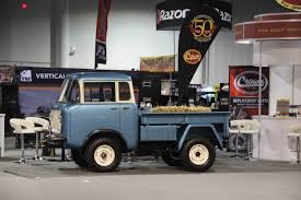 jeep forward control jeep fc 170s at the 2014 sema show is that a trend rod network