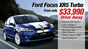 ford focus xr5 review ford focus xr5 turbo sydney city deal review zetland randwick