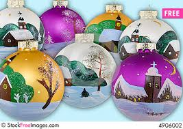 christmas balls hand painted free stock photos u0026 images