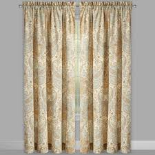 traditions by waverly lyrical legend window curtains set of 2