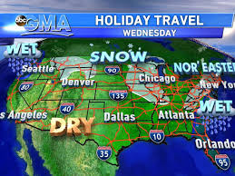 travel forecast images Nor 39 easter to hit in time for thanksgiving travel abc news jpg