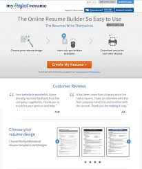 Examples Of Perfect Resumes by 22 Top Best Resume Builders 2016 Free U0026 Premium Templates