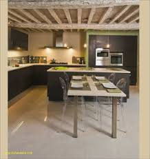 id ilot cuisine impressionnant cuisine ilot table avec table ilot cuisine luxe
