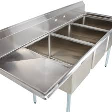 Kitchen Sinks With Drainboard by Regency 66 1 2