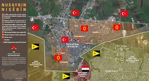 Syria Map Control by Kurds Capture 50 Of Turkish City On The Border With Syria Map