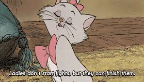 gif cat cute quote disney white pink bows marie aristocats