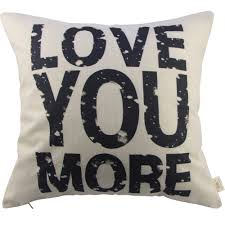 Throw Pillow Covers Online India Amazon Com Generic Love You More Square About Cotton Throw Pillow
