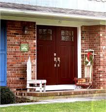 front doors ergonomic brick home front door color brick home