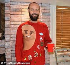 bored panda readers reveal the ugliest christmas sweaters ever