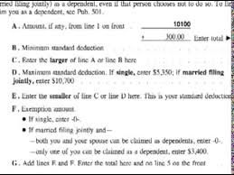 how to complete a 1040ez tax form how to file a 1040ez