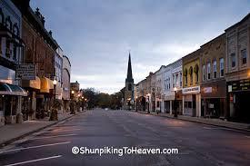 small town america shunpiking to heaven small town america