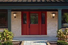 Shaker Style Exterior Doors Mahogany Shaker Style Exterior Door Traditional Front Doors