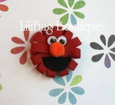 sesame ribbon elmo from sesame inspired ribbon sculpture by leilei1202