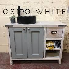 spray painting kitchen cabinets edinburgh edinburgh painted reclaimed timber bathroom vanity