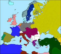 Unlabeled Map Of Europe by Wj College Intro To German Speaking World Shaughnessy Berlin