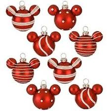 mickey mouse ornaments disney store 22 95