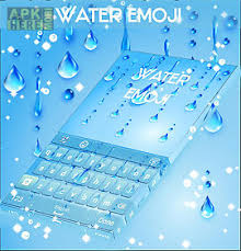 keyboard themes for android free download water theme for emoji keyboard for android free download at apk here