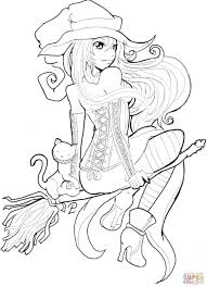 Halloween Color By Number Pages by Anime Halloween Coloring Pages U2013 Halloween Wizard