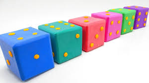 diy indoor games learn colors mad mattr giant dice diy toys for kids how to make