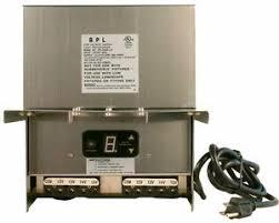 Landscape Light Transformer 600 Watt Stainless Steel Low Voltage Landscape Light Transformer