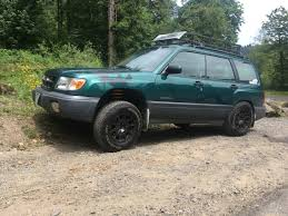 1999 subaru forester off road subaru outback lifted szukaj w google subaru pinterest