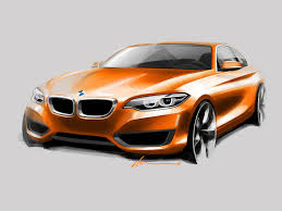 bmw 2 series coupe design sketch car body design 325140 on