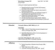Community Service Worker Resume Job Resume Sample Social Worker Resume Example Social Worker