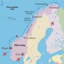 scandinavian cruise northern lights 10 day affordable norway with 5 day scenic coast cruise mountains