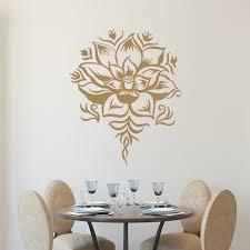 Lotus Flower Wall Decal Om by Popular Sticker Livingroom Buy Cheap Sticker Livingroom Lots From