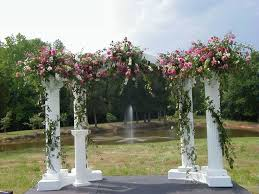 wedding arch decoration ideas columns flowers arch wedding arches decoration ideas pintere