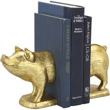 twenty trendy bookends that will liven up your shelves living in