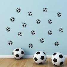 popular football wall stickers for kids rooms boys buy cheap football vinyl wall stickers for kids rooms boys girls removable pvc home decor wall classical decals