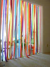 streamers paper jumping through a rainbow crepe paper streamers paper streamers