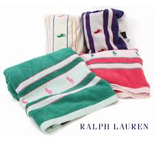 Ralph Lauren Bathroom Accessories by Man Bathroom With Ralph Lauren Polo Ponies Beach Sheet Towel And