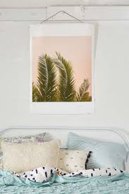 bedroom design tips for a serene sanctuary view in gallery palm tree art in a bedroom by urban outfitters