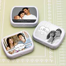 mint to be favors personalized photo wedding mint tin favors personalized wedding
