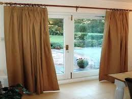 sliding glass door curtain rod diy porch cu curtains