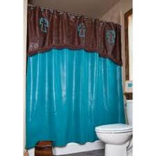 Brown Turquoise Curtains Scintillating Turquoise And Brown Shower Curtain Images Ideas