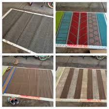 How To Make A Area Rug by Painting An Area Rug Roselawnlutheran